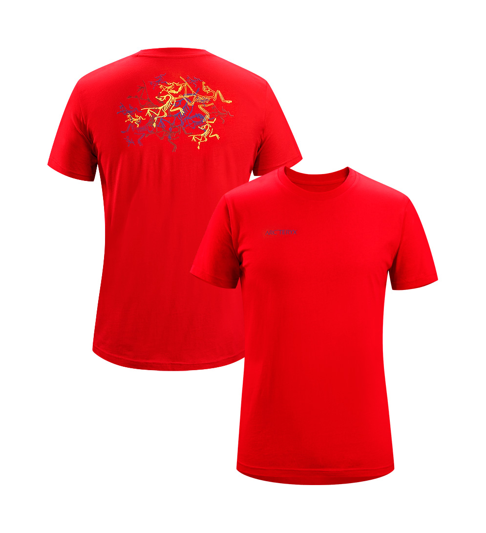 Arcteryx Cinnabar Multi Bird T-Shirt - New
